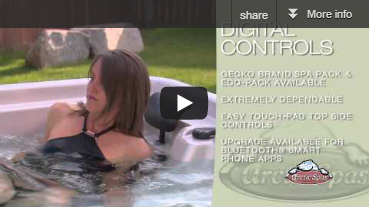 Arctic Spas Digital Controls